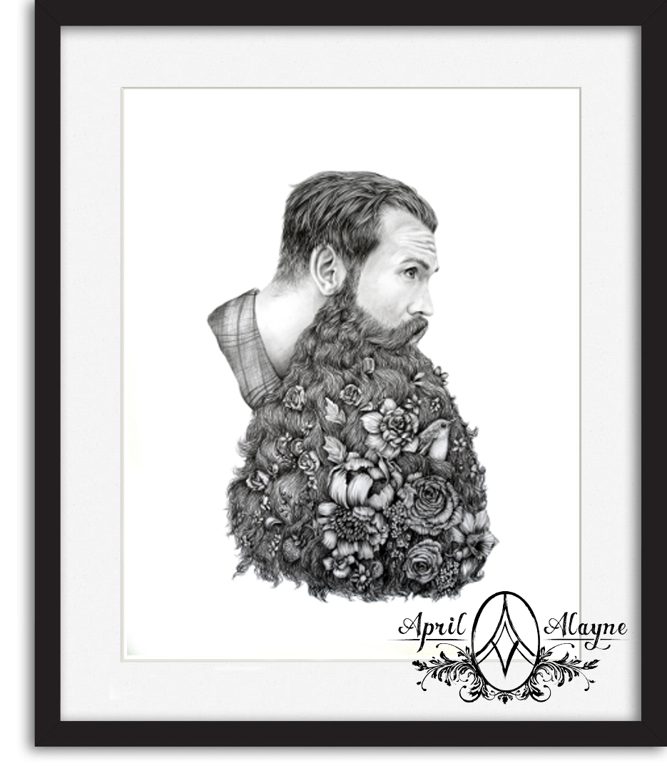 Beard Botanical 8.5×11 Fine Art Print – Always april