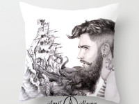 Sailor Beard pillowwm
