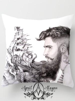 Sailor Beard pillowwm